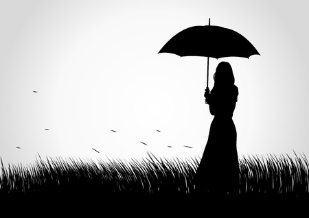 silhiuette_parapluie
