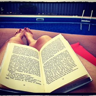 Lecture-piscine