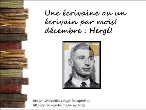 Présentation_un écrivain_Hergé