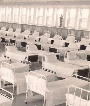 Dortoir de Belles-Lettres 1955